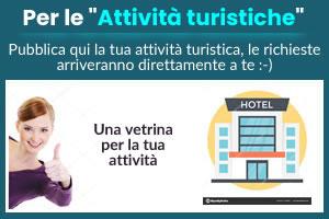 Pubblica la tua attività turistica su Tropeacase.it